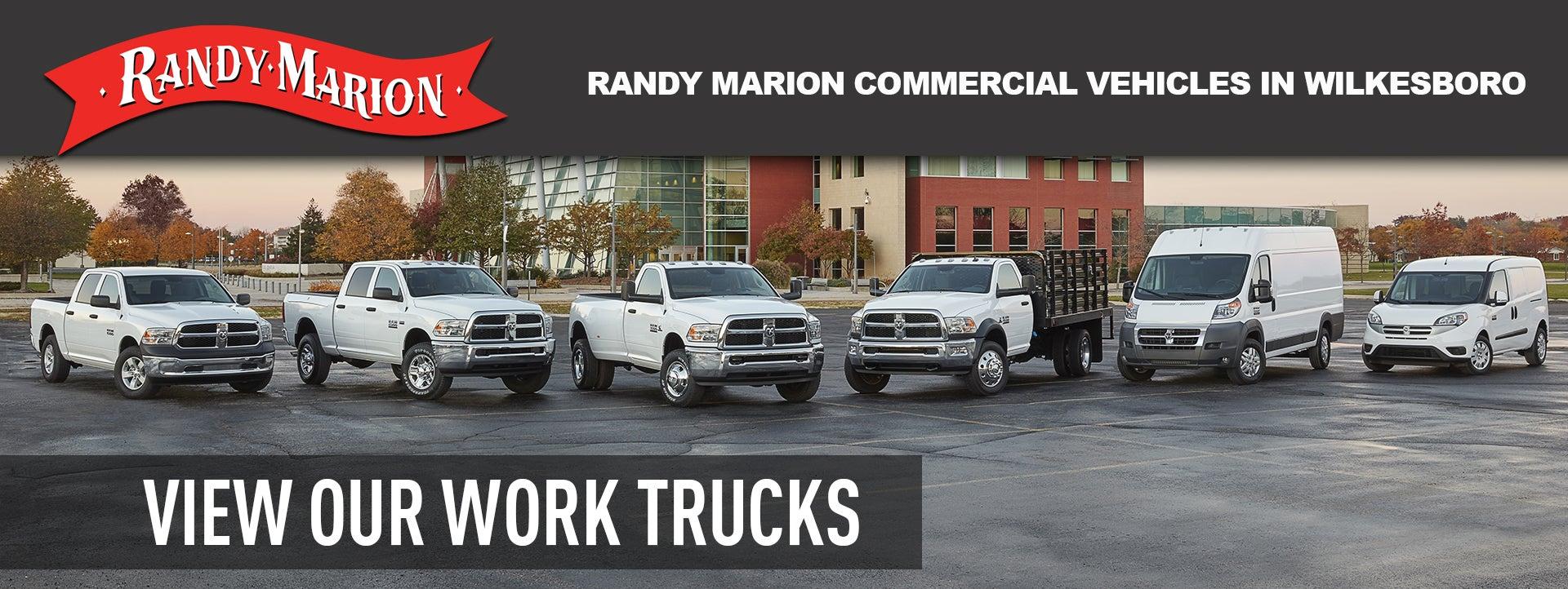Randy Marion Chrysler Dodge Jeep Ram Wilkesboro Nc Dealer